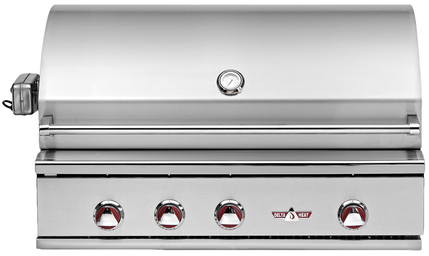 38 inch stainless steel built-in grill