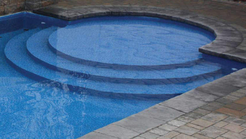 Composite Pool Steps