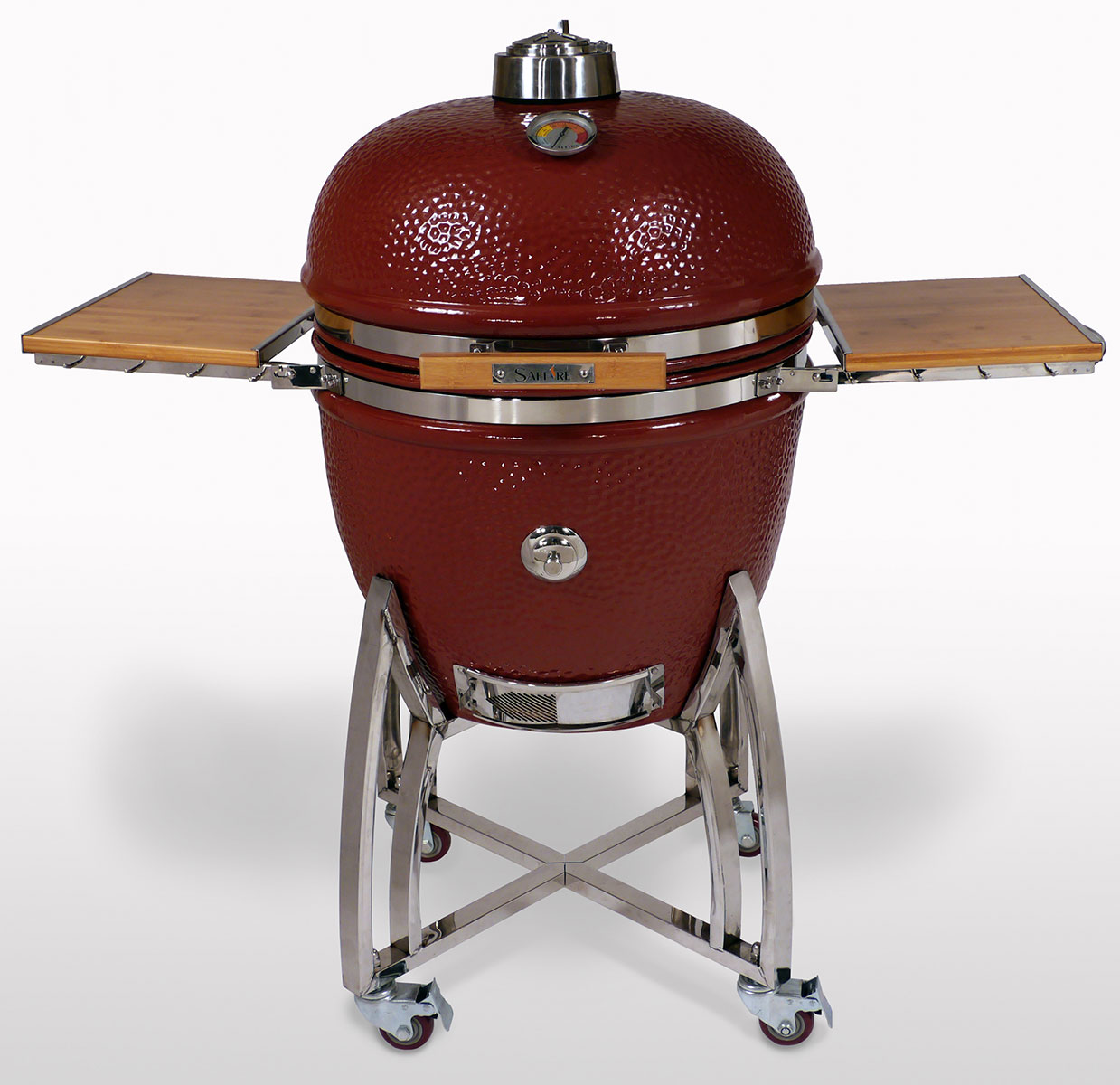 2014 Red XL Saffire Grill & Smoker