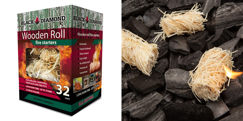Black Diamond Wooden Roll Fire Starters