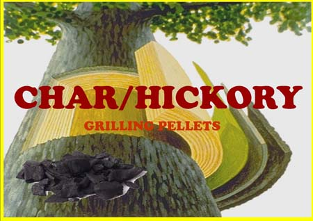 Char/Hickory Smoking Pellets