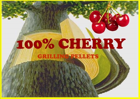Cherry Smoking Pellets