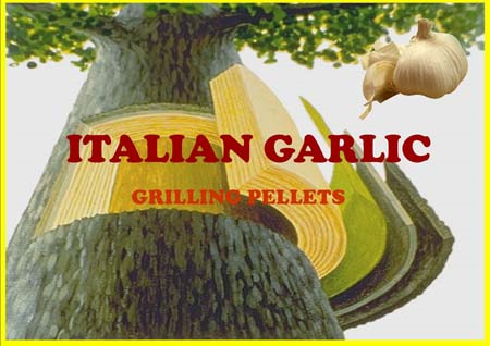 Italian Garlic Smoking Pellets