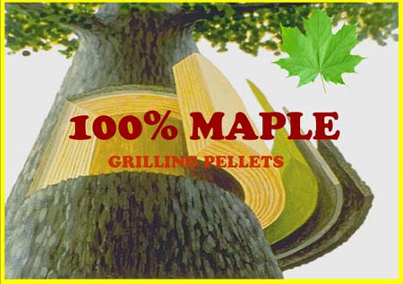 Maple Smoking Pellets