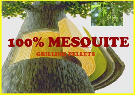 Mesquite Smoking Pellets