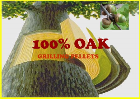 Oak Smoking Pellets