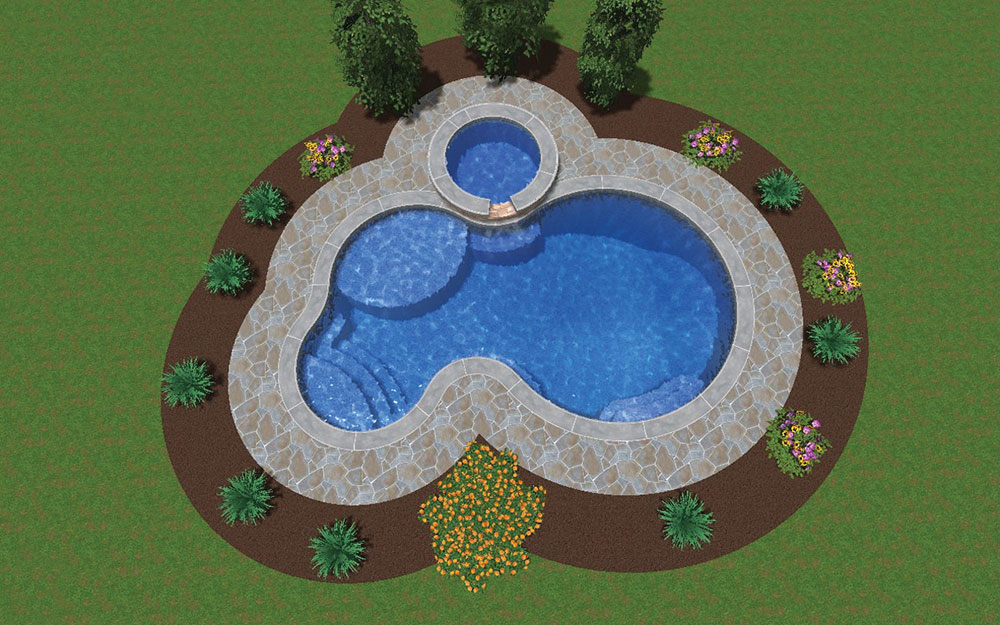 Inground Pool Shapes: Custom Lagoon