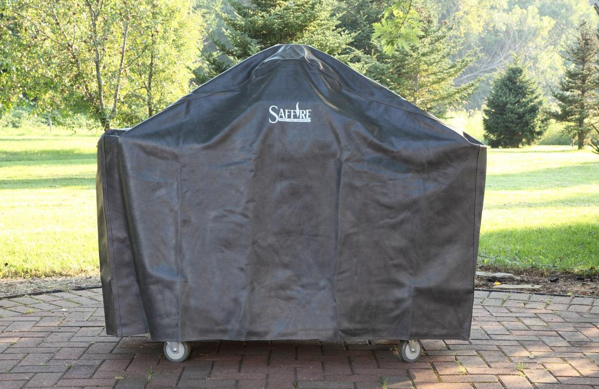Saffire Grill Heat Deflector - Smoking Position